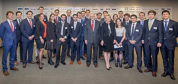 Prince Albert Fund in presence of HRH